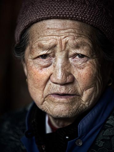 Survivor of the Cultural Revolution; Xizhou, China