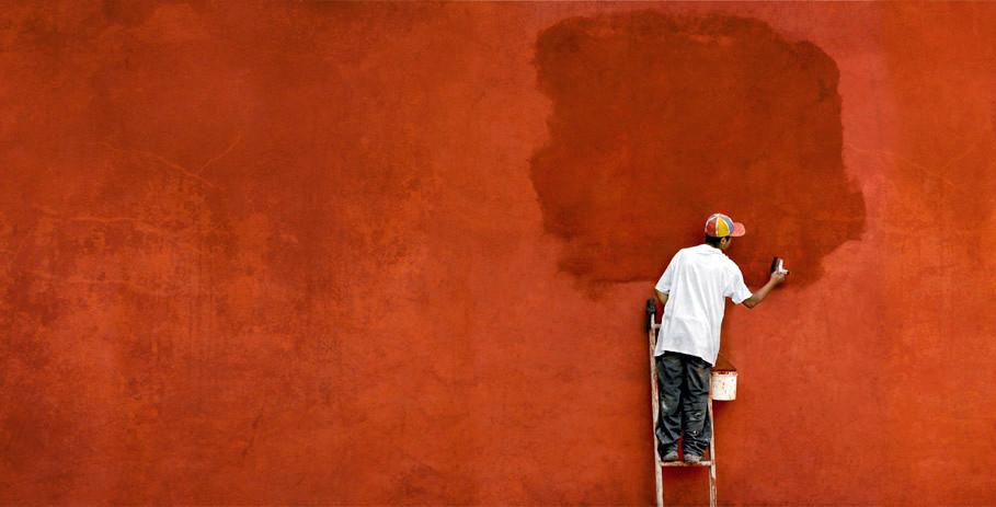 Rojo- San Miguel de Allende, Mexico