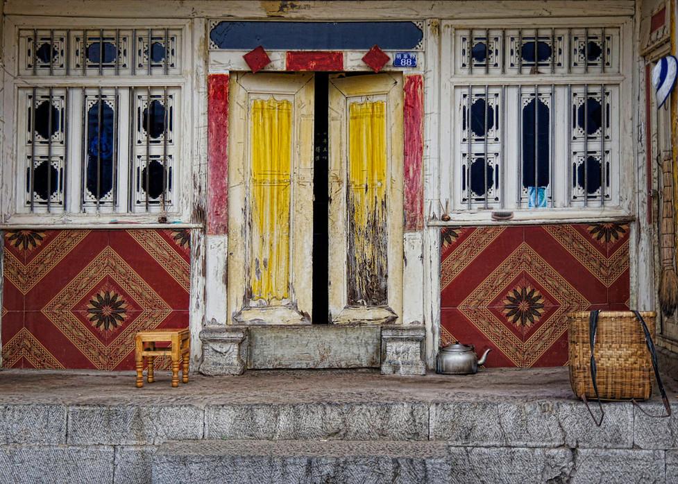 Front Porch; Yunnan Province, China
