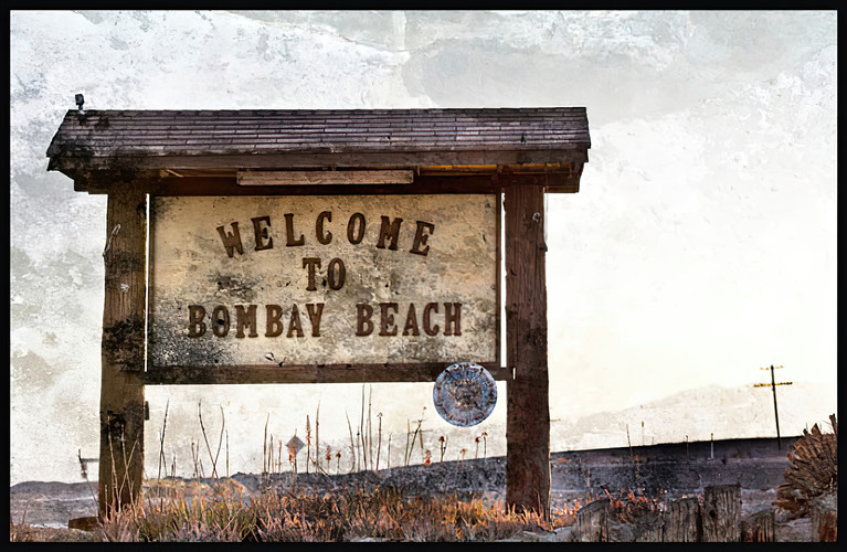 Bombay Beach; Salton Sea