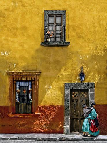 Woman and Child;  San Miguel de Allende, Mexico