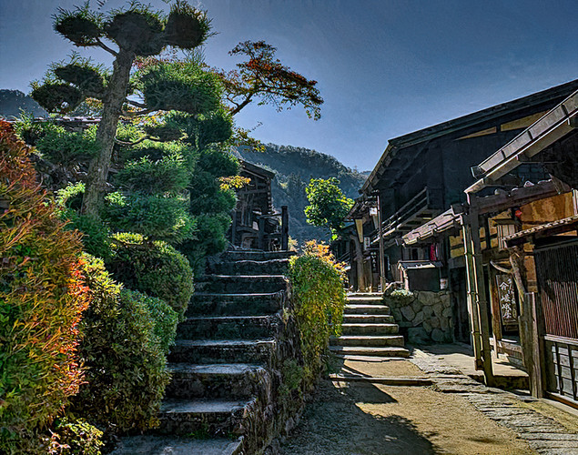 Magome, Post Town, Japan
