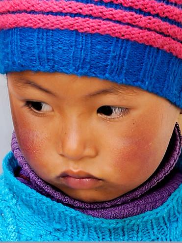 Young Boy;  Leh, Ladakh, India