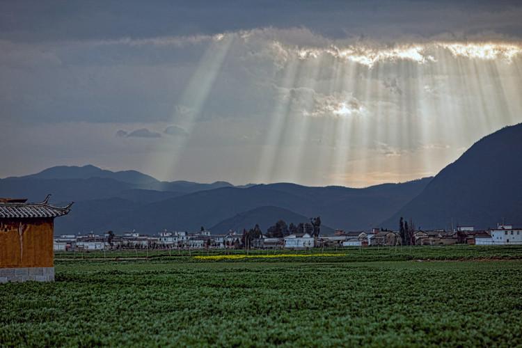 After the Storm; Xizhou, Yunnan, China