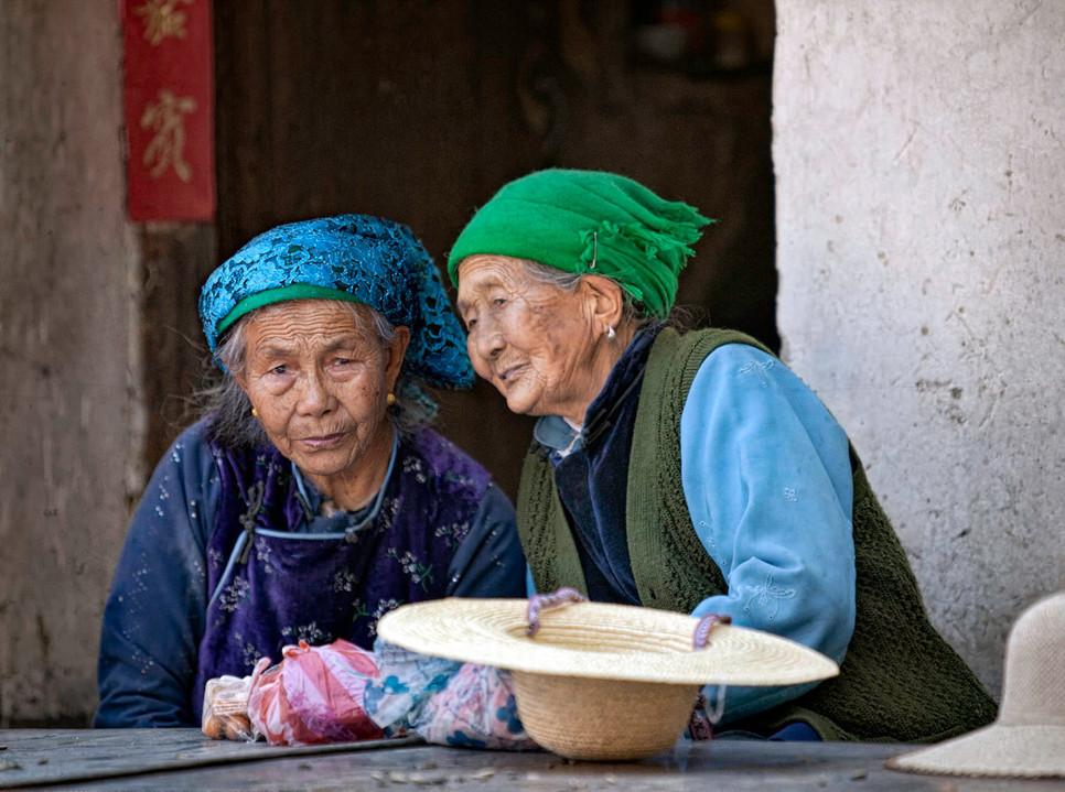Party Talk; Xizhou,China