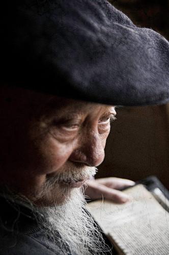 Elder of Xizhou; Yunnan Province, China