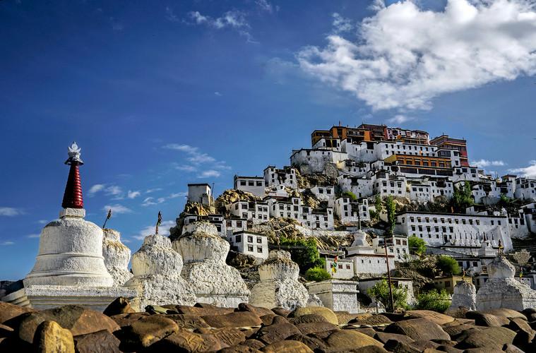 Thikse Monastery;  Ladakh,India