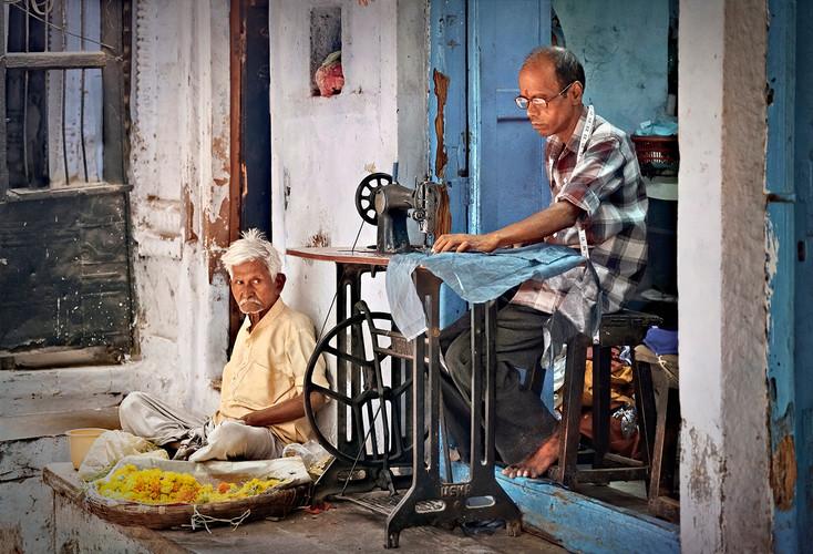 The Tailor; Varanasi, India