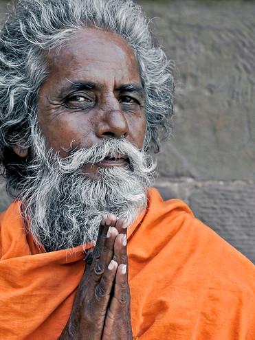 Sadhu; Varanasi, India