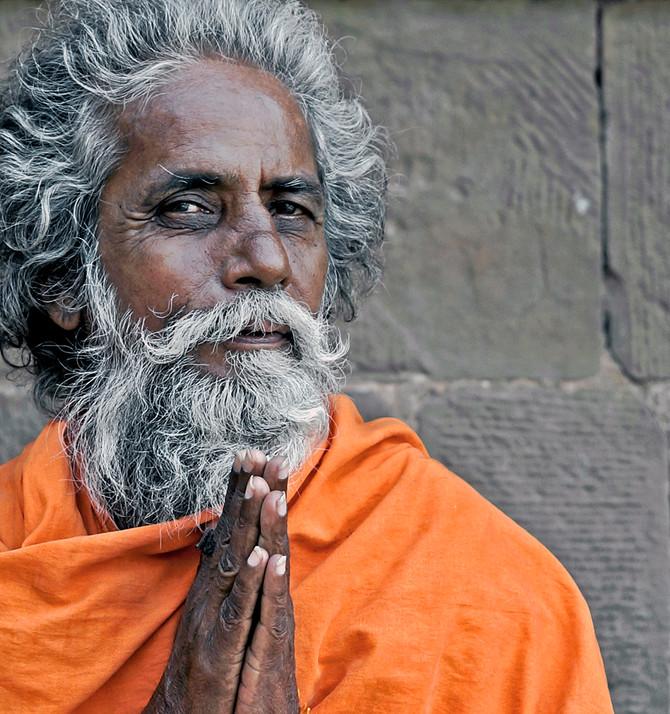 Sadhu in Veranasi, India