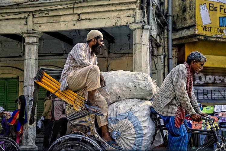 Heading to Market; Varanasi, India