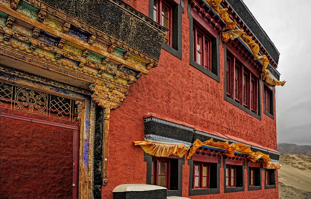 Thikse Monastery;  Ladakh, India