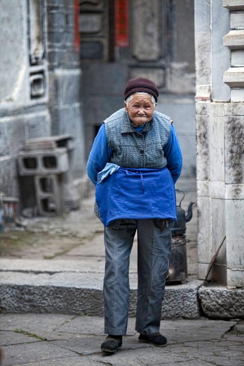Blue Apron; Xizhou,China