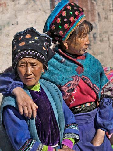 Market Friends; Zhoucheng,China