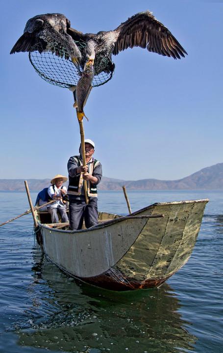 The Catch at Erhai Lake; Yunnan Province,China