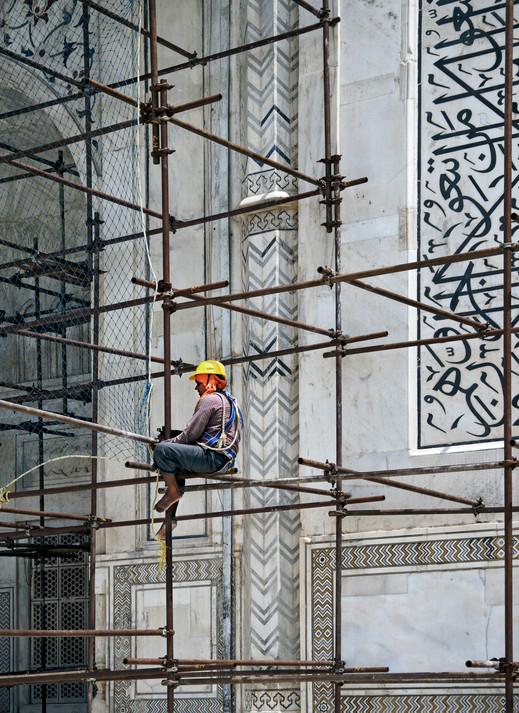 The Restoration of the Taj Mahal, India