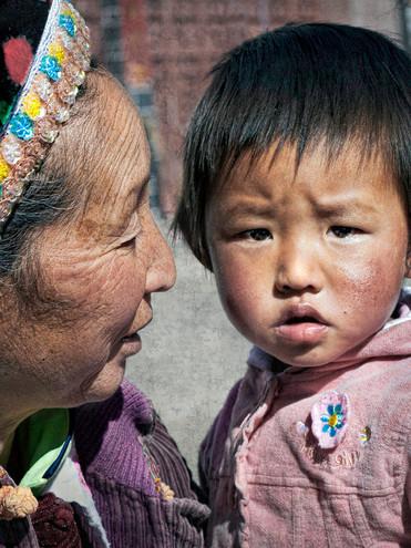 Mother and Child; Zhoucheng,China