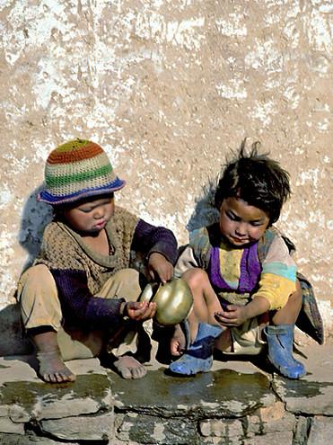 Sharing Water;  Kathmandu, Nepal