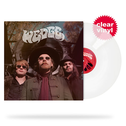 WEDGE - Wedge (LP, clear vinyl/limited edition)