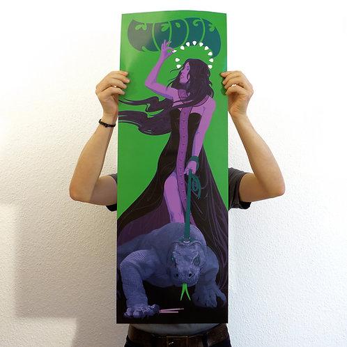 """Poster - """"Killing Tongue"""" (A2 long)"""