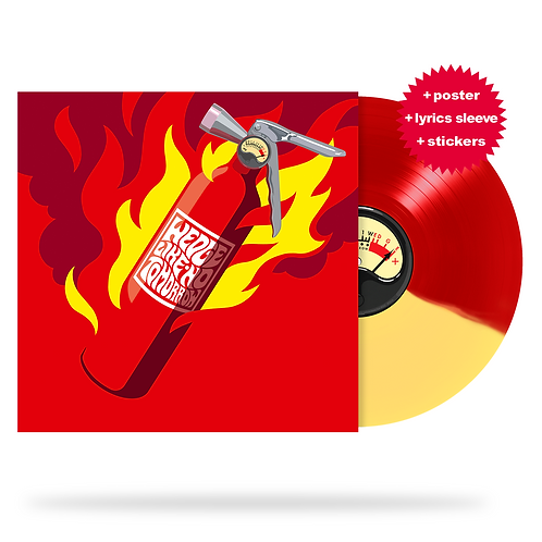WEDGE - Like No Tomorrow (red/yellow vinyl) + limited extras!
