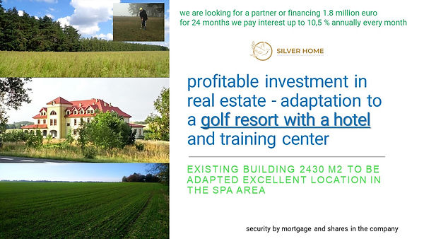 a great investment in the GOLF RESORT training center .jpg