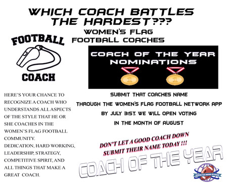 Coach of the Year Nominations
