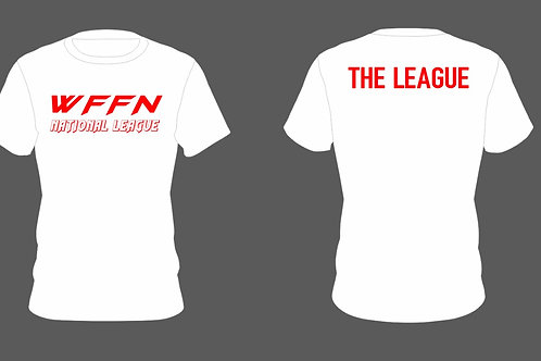 "Light Weight ""The League"" Shirts  White"