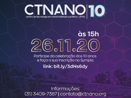 CTNano comemora seus 10 anos
