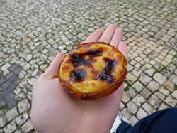 Un pasteis de Belém