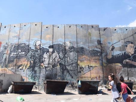 A Bethléem, la réalité du mur de séparation