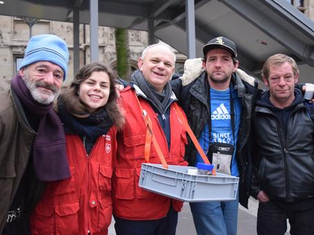 Un matin de Noël avec les sans-abri de Rouen