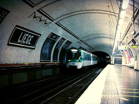 Pensée dans le métro à la fin du mois