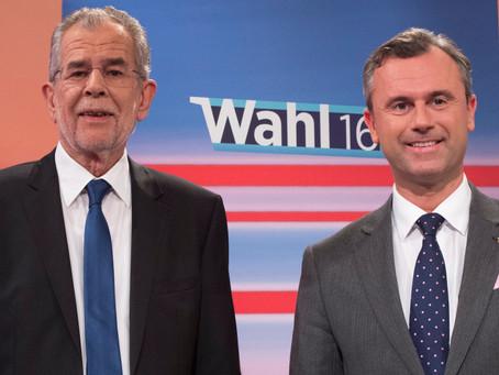 A 30 000 voix près, l'Autriche passait à l'extrême-droite