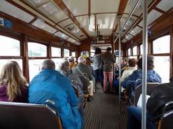 Dans le tramway lisboète
