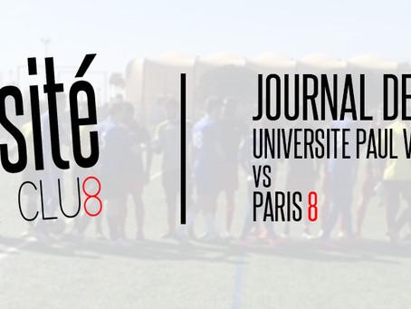 Université Football Club - Journal de bord : les huitièmes de finale