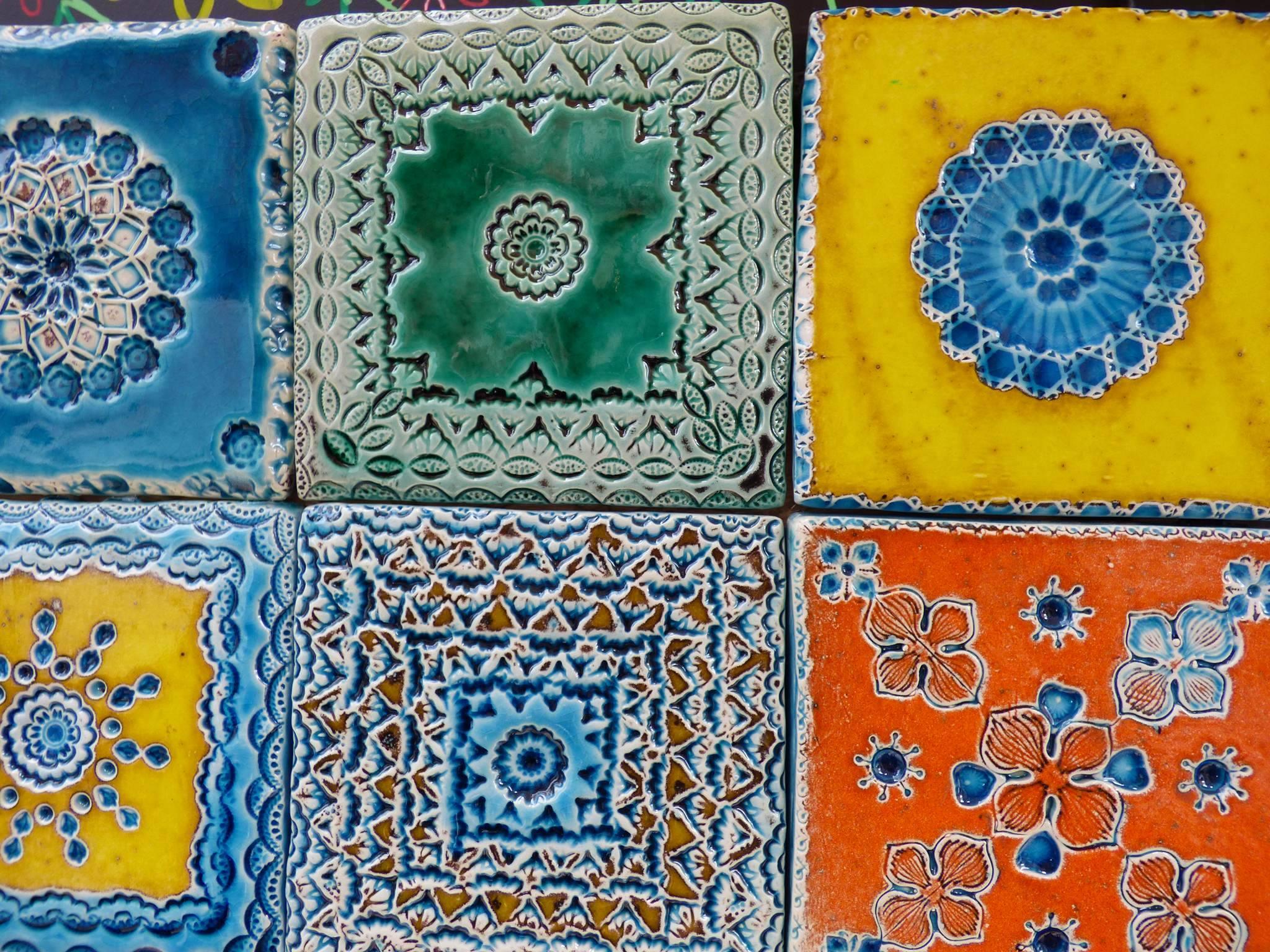Les azulejos