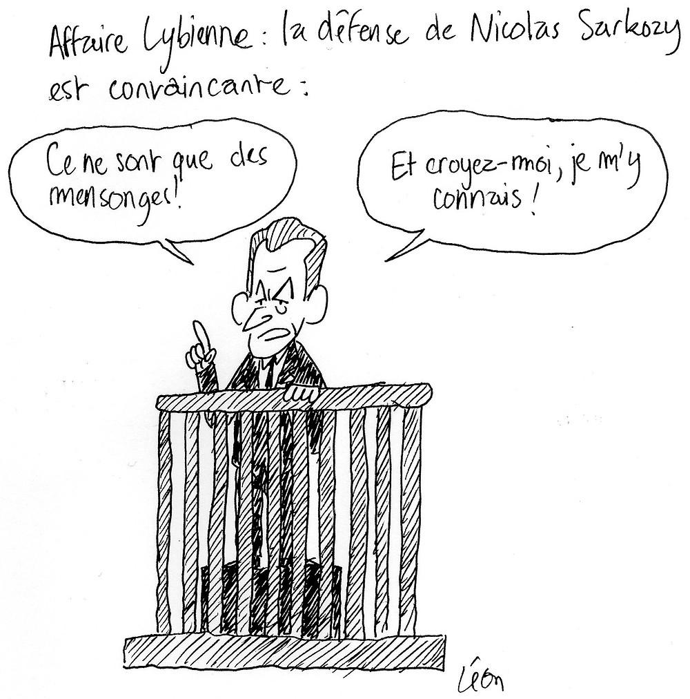 Affaire lybienne : la défense de Nicolas Sarkozy