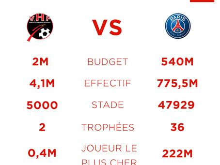 La finale de la Coupe de France en infographie