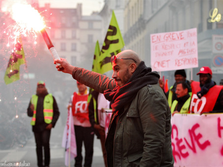 Photos : les manifestations anti-ordonnances à Paris