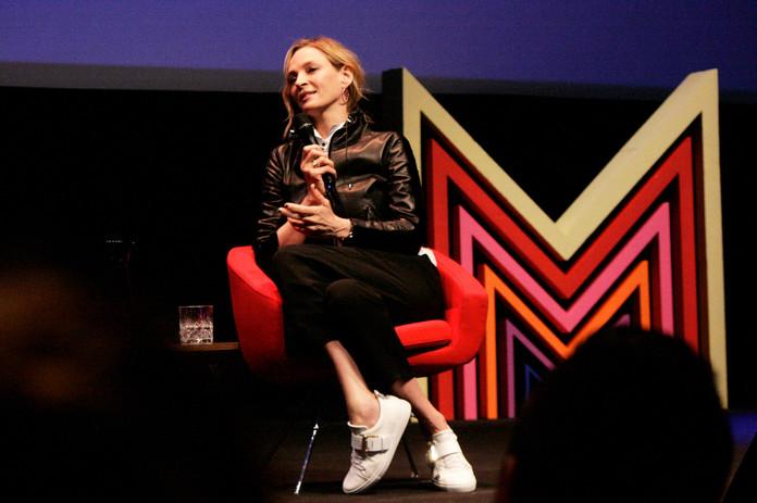 Uma Thurman invitée d'honneur du festival, parle de sa nouvelle série Chambers, bientôt sur Netflix