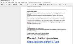 Capture d'écran Google Docs