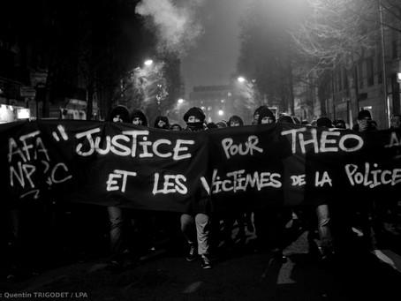 Photos : Lille manifeste en soutien à Théo