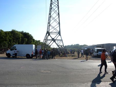 La difficile vie des réfugiés de Calais