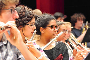 Arabian Youth Orchestra Flutes