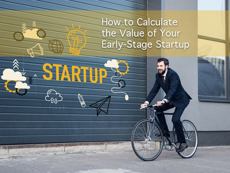 Calculate the Value of Your Company & Early-Stage Startup. Insight on Million $ fundraising