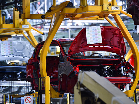 Industrial production declines by 16.6 per cent in June: Govt data.