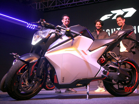 Ultraviolette Automotive has raised Rs 30 cr Series B led by TVS Company