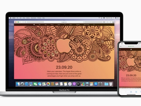 Apple opens its first online store in India