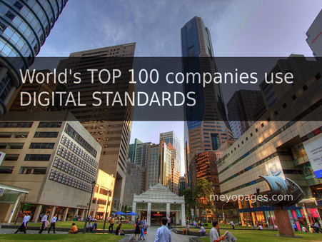 World's top 100 companies use Digital standards as ready use template to grow their business in 2021